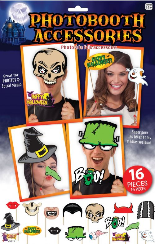 Halloween Photobooth Kit Trick Or Treat Party Favour